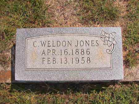 JONES, C WELDON - Dallas County, Arkansas | C WELDON JONES - Arkansas Gravestone Photos