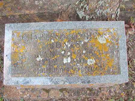 JONES, CHARLES STEPHENS - Dallas County, Arkansas | CHARLES STEPHENS JONES - Arkansas Gravestone Photos