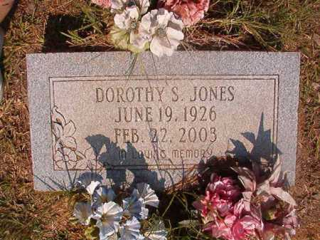 JONES, DOROTHY S - Dallas County, Arkansas | DOROTHY S JONES - Arkansas Gravestone Photos