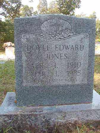 JONES, DOYLE EDWARD - Dallas County, Arkansas | DOYLE EDWARD JONES - Arkansas Gravestone Photos