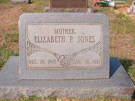 JONES, ELIZABETH P - Dallas County, Arkansas | ELIZABETH P JONES - Arkansas Gravestone Photos