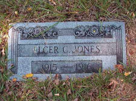 JONES, ELCER C - Dallas County, Arkansas | ELCER C JONES - Arkansas Gravestone Photos
