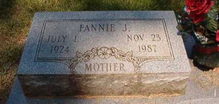 JONES, FANNIE J - Dallas County, Arkansas | FANNIE J JONES - Arkansas Gravestone Photos