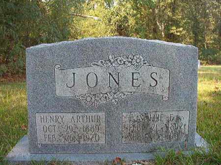 JONES, HENRY ARTHUR - Dallas County, Arkansas | HENRY ARTHUR JONES - Arkansas Gravestone Photos