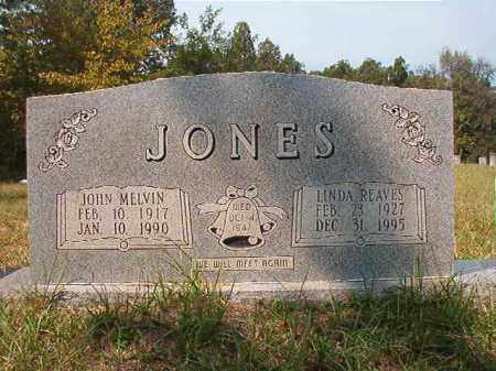 JONES, JOHN MELVIN - Dallas County, Arkansas | JOHN MELVIN JONES - Arkansas Gravestone Photos