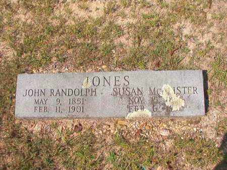 MCALISTER JONES, SUSAN - Dallas County, Arkansas | SUSAN MCALISTER JONES - Arkansas Gravestone Photos