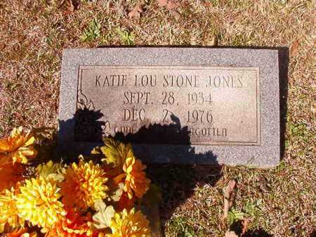 STONE JONES, KATIE LOU - Dallas County, Arkansas | KATIE LOU STONE JONES - Arkansas Gravestone Photos