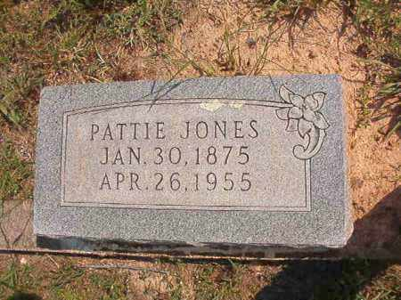 JONES, PATTIE - Dallas County, Arkansas | PATTIE JONES - Arkansas Gravestone Photos