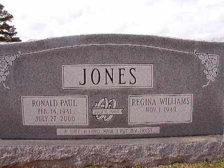 JONES, RONALD PAUL - Dallas County, Arkansas | RONALD PAUL JONES - Arkansas Gravestone Photos