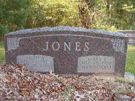 JONES, VERNA K - Dallas County, Arkansas | VERNA K JONES - Arkansas Gravestone Photos