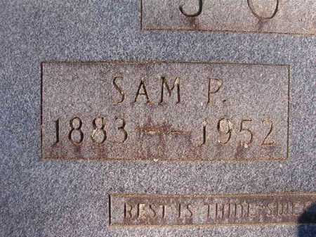 JONES, SAM P - Dallas County, Arkansas | SAM P JONES - Arkansas Gravestone Photos
