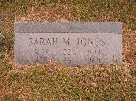 JONES, SARAH M - Dallas County, Arkansas | SARAH M JONES - Arkansas Gravestone Photos