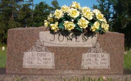 JONES, S OBIE - Dallas County, Arkansas | S OBIE JONES - Arkansas Gravestone Photos
