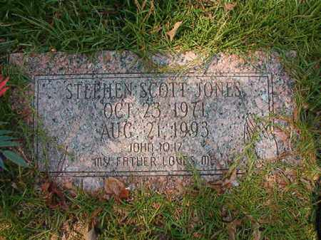JONES, STEPHEN SCOTT - Dallas County, Arkansas | STEPHEN SCOTT JONES - Arkansas Gravestone Photos