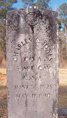 JONES (VETERAN CSA), CHARLES S - Dallas County, Arkansas | CHARLES S JONES (VETERAN CSA) - Arkansas Gravestone Photos