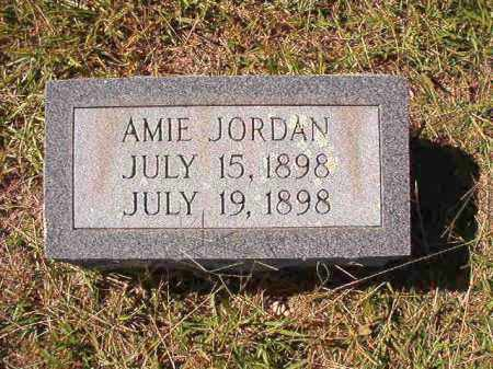 JORDAN, AMIE - Dallas County, Arkansas | AMIE JORDAN - Arkansas Gravestone Photos