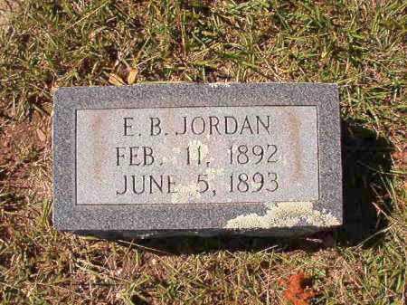 JORDAN, E B - Dallas County, Arkansas | E B JORDAN - Arkansas Gravestone Photos