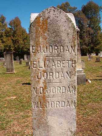 JORDAN, N D - Dallas County, Arkansas | N D JORDAN - Arkansas Gravestone Photos