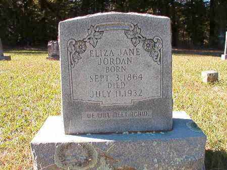 JORDAN, ELIZA JANE - Dallas County, Arkansas | ELIZA JANE JORDAN - Arkansas Gravestone Photos