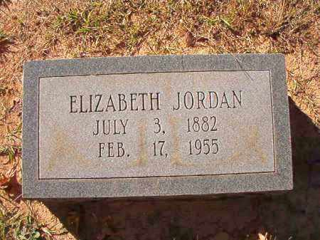 JORDAN, ELIZABETH - Dallas County, Arkansas | ELIZABETH JORDAN - Arkansas Gravestone Photos