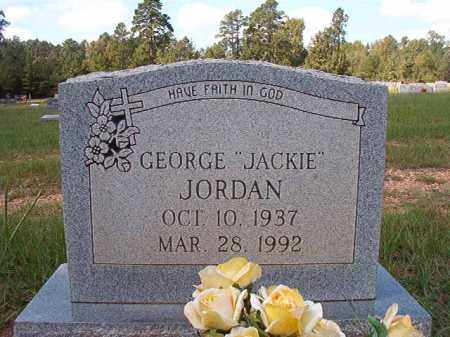 "JORDAN, GEORGE ""JACKIE"" - Dallas County, Arkansas 
