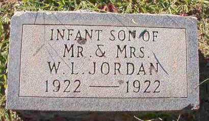 JORDAN, INFANT SON - Dallas County, Arkansas | INFANT SON JORDAN - Arkansas Gravestone Photos