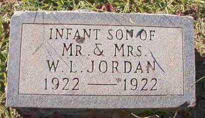 JORDAN, INFANT SON - Dallas County, Arkansas | INFANT SON JORDAN - Arkansas Gravestone Photos