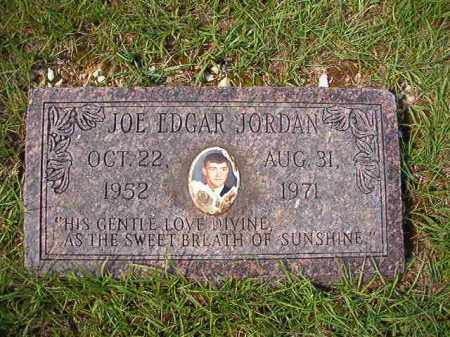 JORDAN, JOE EDGAR - Dallas County, Arkansas | JOE EDGAR JORDAN - Arkansas Gravestone Photos