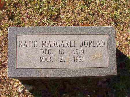 JORDAN, KATIE MARGARET - Dallas County, Arkansas | KATIE MARGARET JORDAN - Arkansas Gravestone Photos
