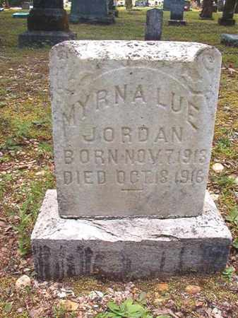 JORDAN, MYRNA LUE - Dallas County, Arkansas | MYRNA LUE JORDAN - Arkansas Gravestone Photos