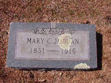 JORDAN, MARY C - Dallas County, Arkansas | MARY C JORDAN - Arkansas Gravestone Photos