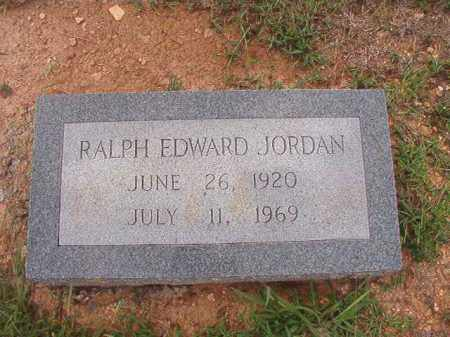 JORDAN, RALPH EDWARD - Dallas County, Arkansas | RALPH EDWARD JORDAN - Arkansas Gravestone Photos