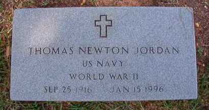 JORDAN (VETERAN WWII), THOMAS NEWTON - Dallas County, Arkansas | THOMAS NEWTON JORDAN (VETERAN WWII) - Arkansas Gravestone Photos