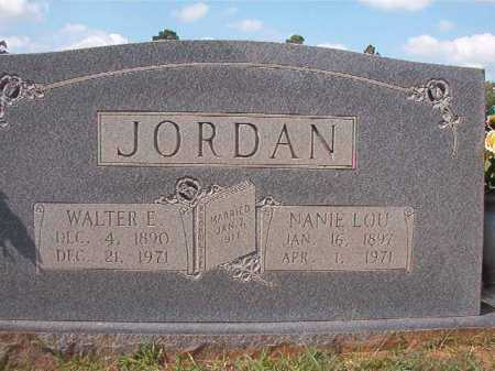 JORDAN, NANIE LOU - Dallas County, Arkansas | NANIE LOU JORDAN - Arkansas Gravestone Photos