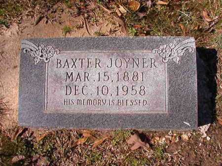JOYNER, BAXTER - Dallas County, Arkansas | BAXTER JOYNER - Arkansas Gravestone Photos