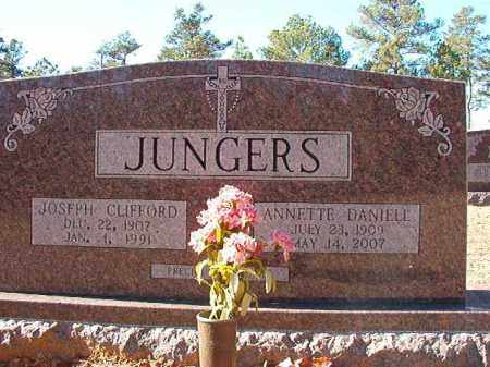 JUNGERS, JOSEPH CLIFFORD - Dallas County, Arkansas | JOSEPH CLIFFORD JUNGERS - Arkansas Gravestone Photos
