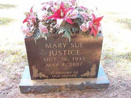 JUSTICE, MARY SUE - Dallas County, Arkansas | MARY SUE JUSTICE - Arkansas Gravestone Photos