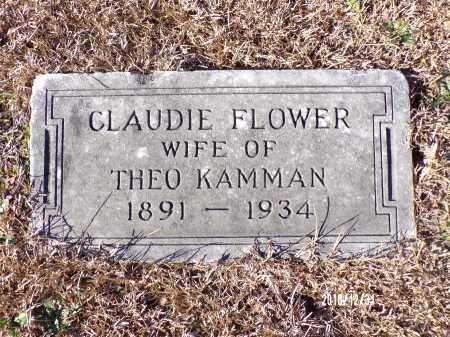 KAMMAN, CLAUDIE FLOWER - Dallas County, Arkansas | CLAUDIE FLOWER KAMMAN - Arkansas Gravestone Photos