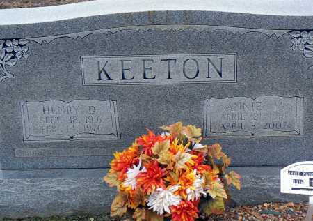 KEETON, HENRY D. - Dallas County, Arkansas | HENRY D. KEETON - Arkansas Gravestone Photos