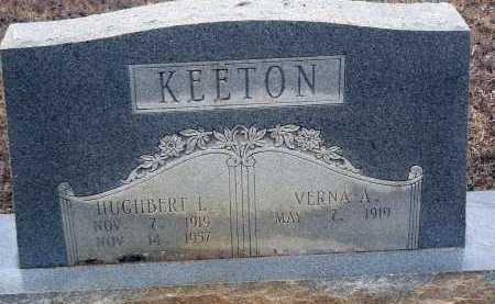 KEETON, HUGHBERT L. - Dallas County, Arkansas | HUGHBERT L. KEETON - Arkansas Gravestone Photos