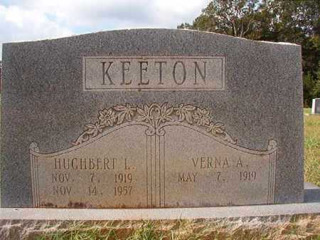 KEETON, HUGHBERT L - Dallas County, Arkansas | HUGHBERT L KEETON - Arkansas Gravestone Photos