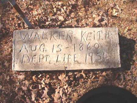 KEITH, WALKER - Dallas County, Arkansas | WALKER KEITH - Arkansas Gravestone Photos