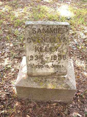 KELLY, SAMMIE GWENDOLYN - Dallas County, Arkansas | SAMMIE GWENDOLYN KELLY - Arkansas Gravestone Photos