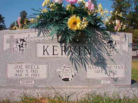 KERVIN, JOE REECE - Dallas County, Arkansas | JOE REECE KERVIN - Arkansas Gravestone Photos