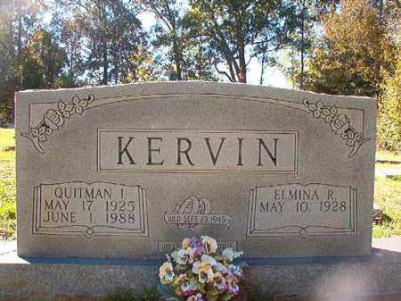 KERVIN, QUITMAN I - Dallas County, Arkansas | QUITMAN I KERVIN - Arkansas Gravestone Photos