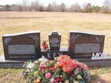 DANIELL KEY, ALMA JEAN - Dallas County, Arkansas | ALMA JEAN DANIELL KEY - Arkansas Gravestone Photos