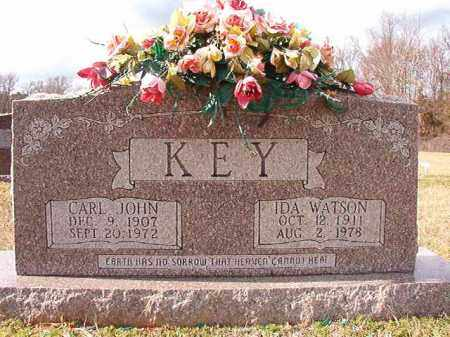 KEY, CARL JOHN - Dallas County, Arkansas | CARL JOHN KEY - Arkansas Gravestone Photos