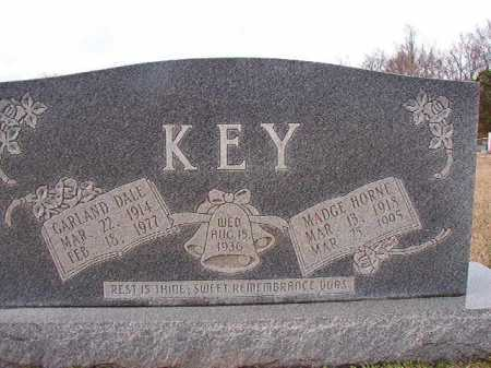 HORNE KEY, MADGE - Dallas County, Arkansas | MADGE HORNE KEY - Arkansas Gravestone Photos