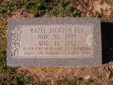 JACKSON KEY, HAZEL - Dallas County, Arkansas | HAZEL JACKSON KEY - Arkansas Gravestone Photos