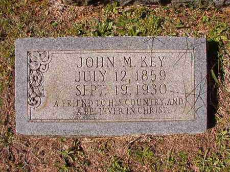 KEY, JOHN M - Dallas County, Arkansas | JOHN M KEY - Arkansas Gravestone Photos